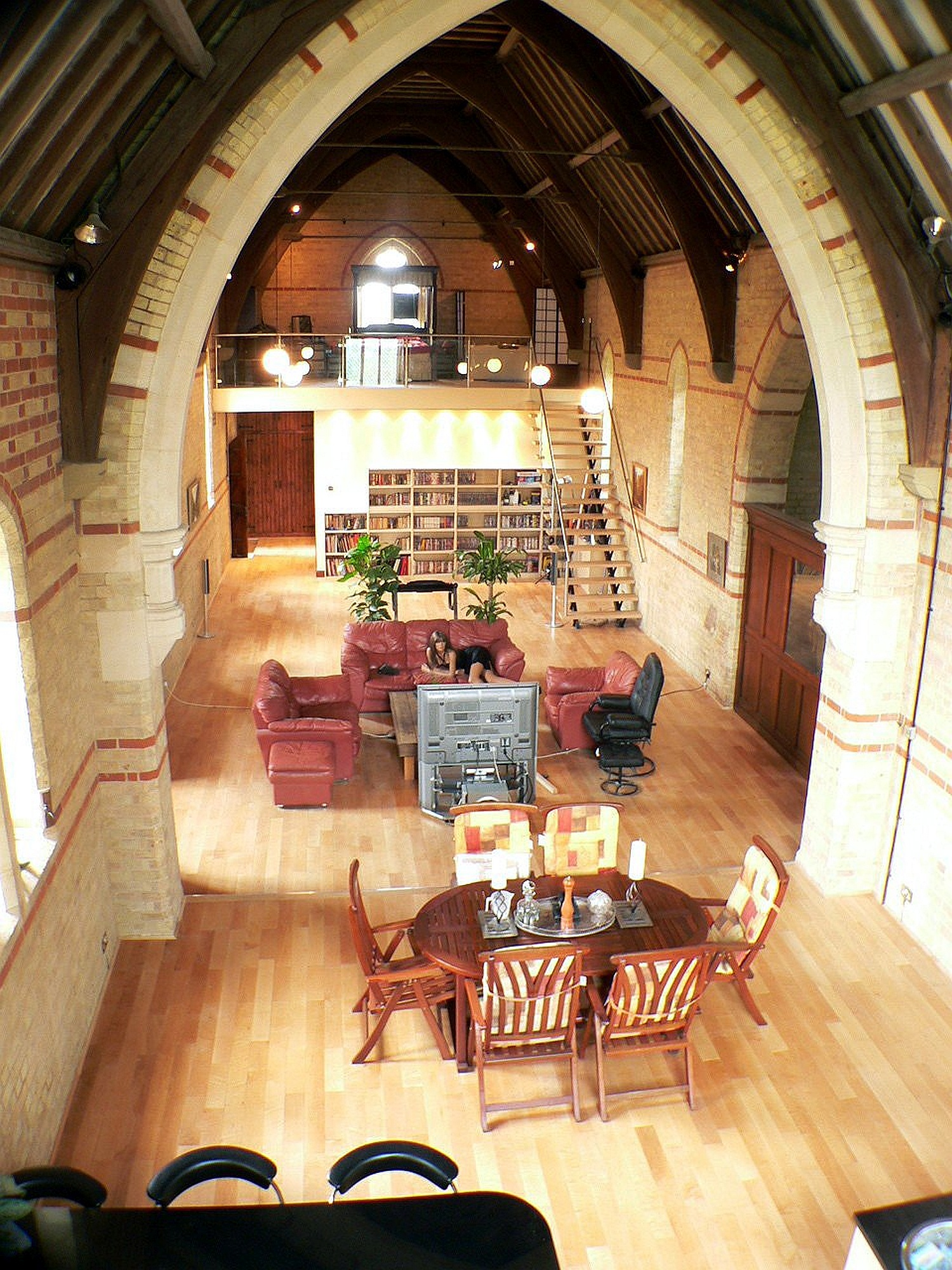 The old church house gallery - Homes in old churches ...